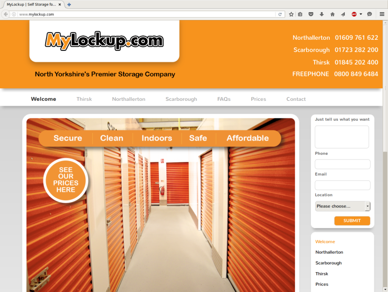Screenshot-MyLockup | Self Storage for Thirsk, Northallerton and Scarborough, North Yorkshire – MyLockup - Mozilla Firefox