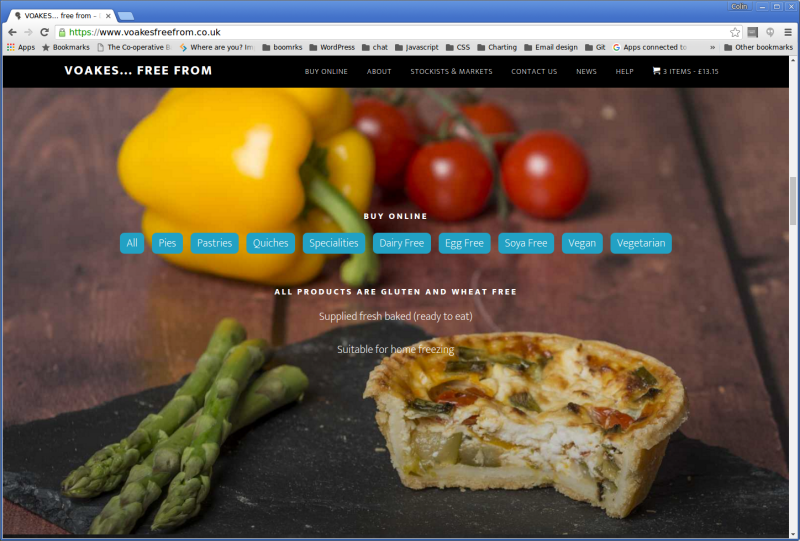 Screenshot-VOAKES... free from – Delicious Gluten and Wheat Free Pies and Pastry Products - Google Chrome-1