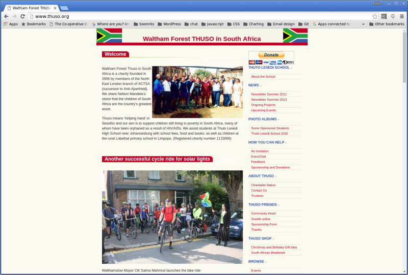 Screenshot-Waltham Forest THUSO in South Africa - Google Chrome